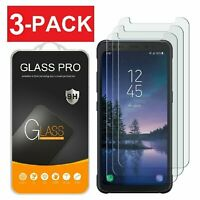 [3-Pack] Samsung Galaxy S8 Active Screen Protector Tempered Glass Protector