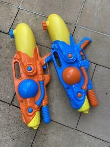 NEW Water Gun Blaster Pool Toy | Kids Outdoor Pistol Soaker Toys | ihartTOYS