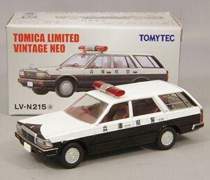 Tomy Tomica Limited Vintage Neo LV-N215a Nissan Gloria Van V20E DX Police 1:64