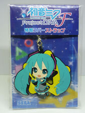 Hatsune Miku Project Diva F Bonus Rubber Strap (2012) Brand New Japan Import