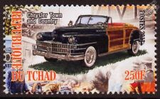 1946 CHRYSLER TOWN and COUNTRY Convertible Car Automobile Mint Stamp (2013)