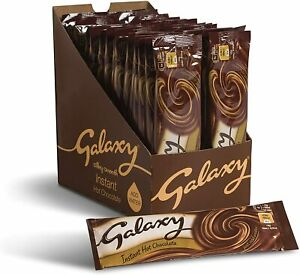 Galaxy Instant Hot Chocolate Sachets, Pack of 25