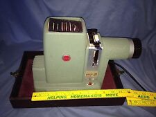 Vintage Kodak Signet 300 Model A Slide Projector w/ Case - Green -  Works - VGC