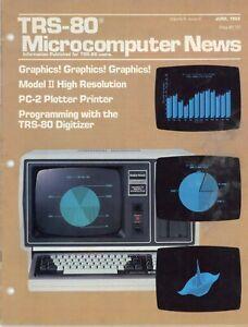 Radio Shack Tandy TRS-80, Microcomputer News Magazine, June 1982