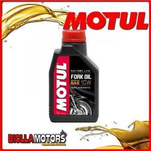 105925 1 LITRO OLIO MOTUL FORK OIL FACTORY LINE MEDIUM 10W FORCELLA