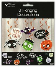 Halloween Party Hanging Swirl Décorations Pack de 6 des tourbillons, Children's Halloween