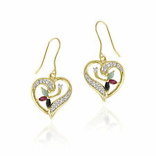Unbranded Hook Ruby Fine Earrings