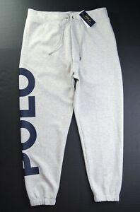 POLO RALPH LAUREN Men's Big & Tall Large POLO Double Knit Jogger Sweatpants NWT