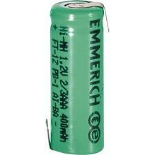 4x Emmerich 255011 NiMH 2/3 AAA Size 1.2V 400mAh Rechargeable Battery Tagged