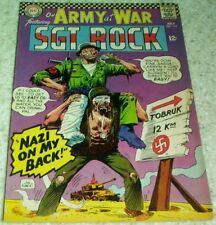 Our Army at War 169, VF+ (8.5) 1966, 40% off Guide!