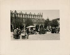 KRAKOW Cracovie c. 1950 -  Place du Marché Pologne - GF 634