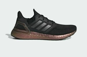 Adidas Originals Men's Ultraboost 20 Shoes NEW AUTHENTIC Black/Grey/Pink EG9749