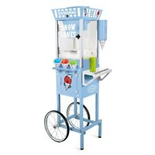 Snow Cone Machine Maker Cart Ice Shaver Crusher Party Shaving Shaved Vintage New