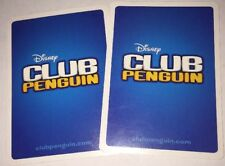 2 - Disney Club Penguin Trading Cards