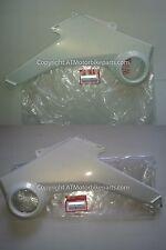 Honda MSX125 GROM Side Fairing Panel Set OEM Himalayas Pearl White 2013-2015