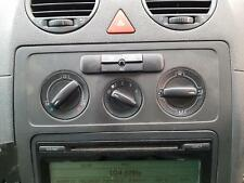 VOLKSWAGEN CADDY HEATER/AC CONTROLS 2K, 02/2005-11/2010