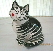 New listing Vintage B. Kliban Cat Trinket Treat Jar 7-1/2� Tastesetter Sigma