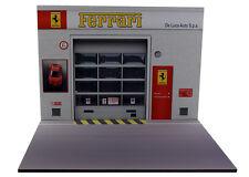Diorama présentoir Ferrari - De Luca Auto S.p.a. - 1/18ème - #18-2-E-E-007