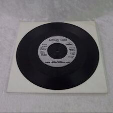 "Batman Theme - Extremely Rare 7"" First Print UK Single Vinyl Record BATSP 1 1966"