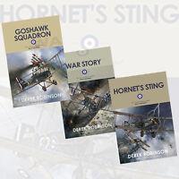 Derek Robinson 3 Books Collection Set (Goshawk Squadron) Paperback BrandNew Pack