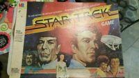 Vintage Milton Bradley Star Trek Board Game