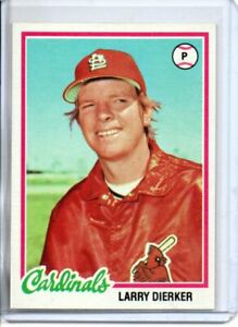 1978 TOPPS LARRY DIERKER (NM/MT) *
