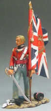 King & Country The Age Of Napoleon Na009 British Officer With Flag Mib