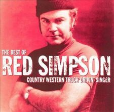 The Best Of Red Simpson CD Country Western Truck Drivin' Singer  Rare!