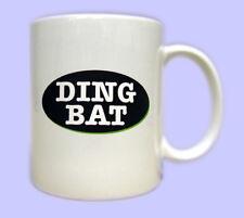 DINGBAT Mug. Printed gift mugs with fun tribute to Keith Lemon & Celebrity Juice