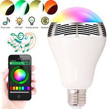 E27 Bluetooth Speaker Color Change Speaker Bulb Light For Android Ios Smartphone
