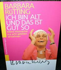 Barbara Rütting (2), Autogramm, original signiert!