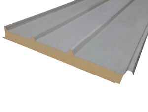 Insulated roofing sheets, composite panel / sandwich panel 80mm thickness