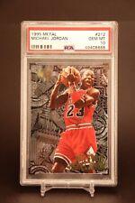Michael Jordan - 1995 Fleer Metal #212 - PSA 10 - Gem Mint