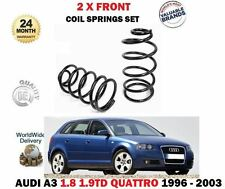 FOR AUDI A3 1.8 TURBO 1.9 TDI QUATTRO MODEL 1996-2003 2 x FRONT COIL SPRINGS SET