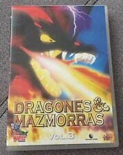 DRAGONES Y MAZMORRAS VOLUMEN 3 - 1 DVD - 3 CAPS - 60 MIN - EN MUY BUEN ESTADO