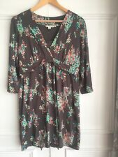 Boden Soft Jersey Floral dress Ladies Size 14R.