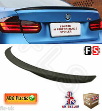 BMW 3 SERIES F30 F80 M PERFORMANCE TYPE TRUNK BOOT SPOILER BLACK 100% OEM FIT
