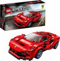 LEGO 76895 Speed Champions Ferrari F8 Tributo Model Racing Car Building Toy Set