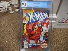 Uncanny X-Men 284 cgc 9.8 Marvel 1992 early Bishop WHITE pgs NM MINT TV movie
