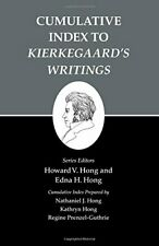 Kierkegaard's Writings, XXVI: Cumulative Index , Kierkegaard, Hong, Hong+=
