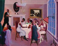 Cocktails : Archibald Motley :1926 : Archival Quality Art Print
