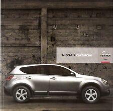 Prospekt / Brochure Nissan Qashqai 06/2007
