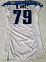 #79 M. White of Tennessee Titans NFL Game Issued Locker Room Jersey