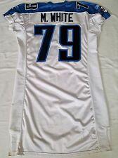 #79 M.BLANC ORIGINAL MATCH émis Tennessee Titans maillot