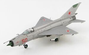 Hobby Master HA0152 - 1/72 MIG-21 Pfm Rouge 50 Soviétique Air Force