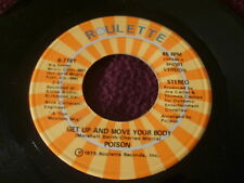 SP POISON / GET UP AND MOVE YOUR BODY / ROULETTE R 7181 USA / DISCO FUNK