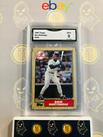 1987 Topps Don Mattingly #500 - 9 MINT GMA Graded Baseball Card