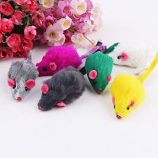 10Pcs/lot Creative Pet Cat Toys Fur False Mouse Kitten Cat Playing Toys