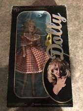 Dolly Parton 1996 Doll Goldberger New in Box Red Plaid Dress