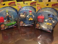 Set of 3 Mickey and the Roadster Racers Mickey,Donald,and Goofy -Free Shipping!